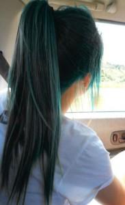 capelli colorati incolori originali