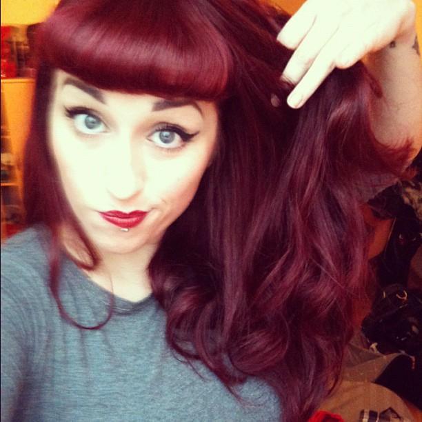 Conseil coloration cheveux rouge