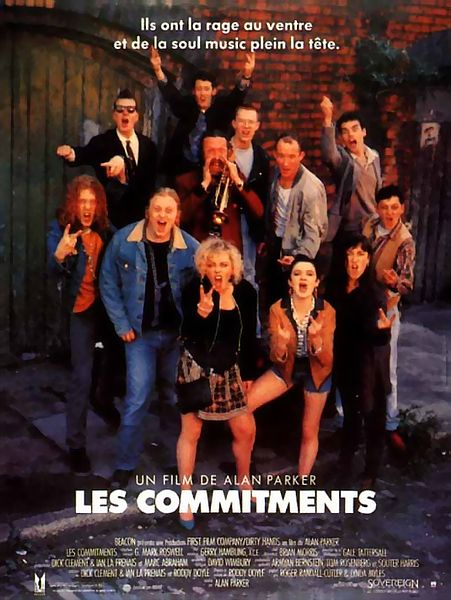 affiche the commitments color mania