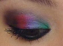 mint-water maquillage black-rainbow