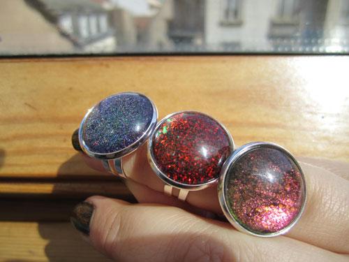 bagues galaxy vernis à ongles zoh