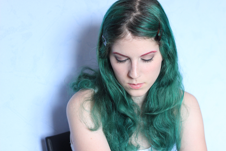 Coloration Cheveux Verts Zeuh itw Color-Mania