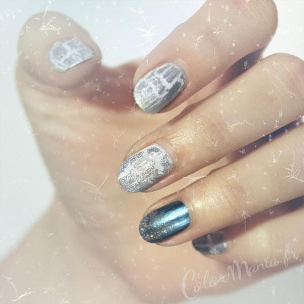 nail-art-christmas-gelo-luccica-argento-bicromato di potassio blu-bianco-colore-mania