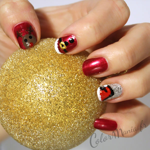 pere-noel-nail-art-rouge-color-mania
