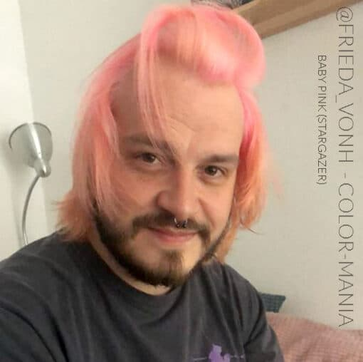 Merci Max par Frieda :) Coloration Cheveux Rose Baby – Stargazer | Color-Mania