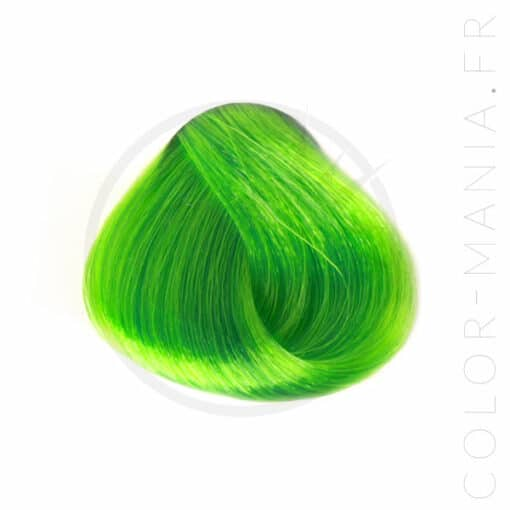 Coloration Cheveux Vert Anis – Stargazer | Color-Mania