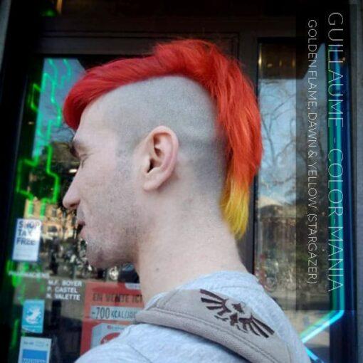 Merci Guillaume :) Coloration Cheveux Jaune Vif – Stargazer | Color-Mania