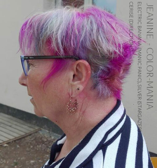 Merci Jeanine :) Coloration Cheveux Rose Cerise - Directions | Color-Mania