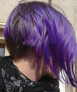 Merci Milie :) Coloration Cheveux Violet Prune – Stargazer | Color-Mania
