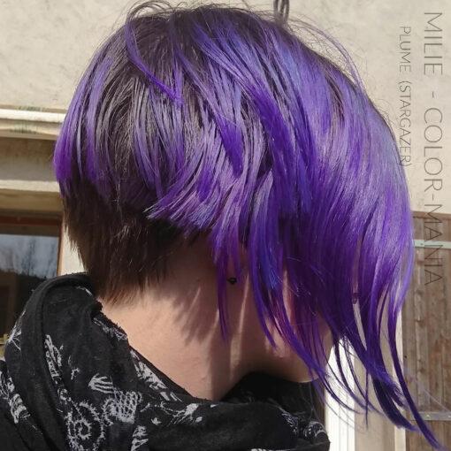 Merci Milie :) Coloration Cheveux Violet Prune – Stargazer   Color-Mania