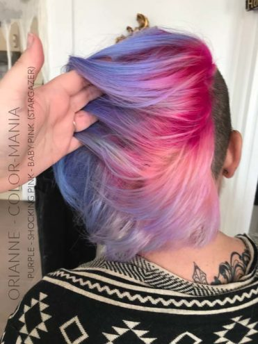 Merci Orianne :) Coloration Cheveux Rose Baby – Stargazer | Color-Mania