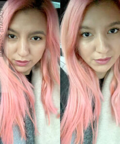 Merci Yesim :) Coloration Cheveux Rose Baby – Stargazer | Color-Mania