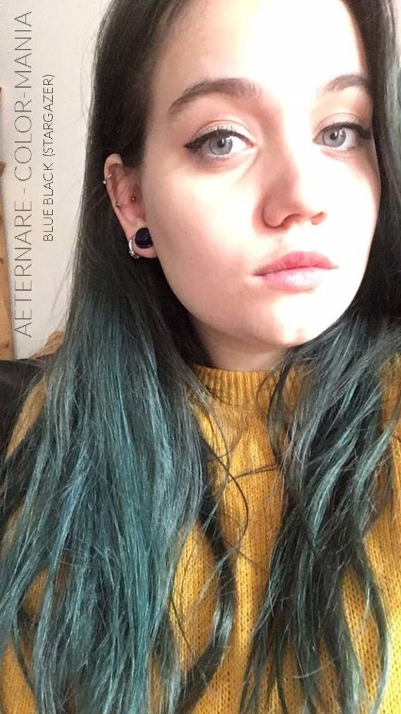 Merci Aeternare :) Coloration Cheveux Bleu Noir – Stargazer | Color-Mania
