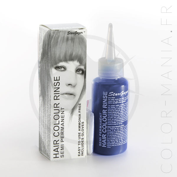 Coloration Cheveux Toner Gris Argent – Stargazer | Color-Mania