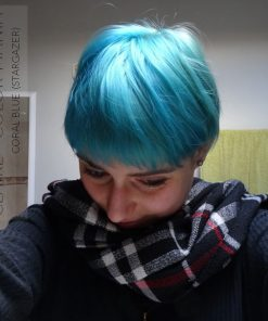 Merci Claire :) Coloration Cheveux Bleu Lagon – Stargazer | Color-Mania