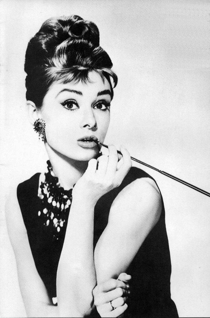 Audrey Hepburn en Desayuno en Tiffany's