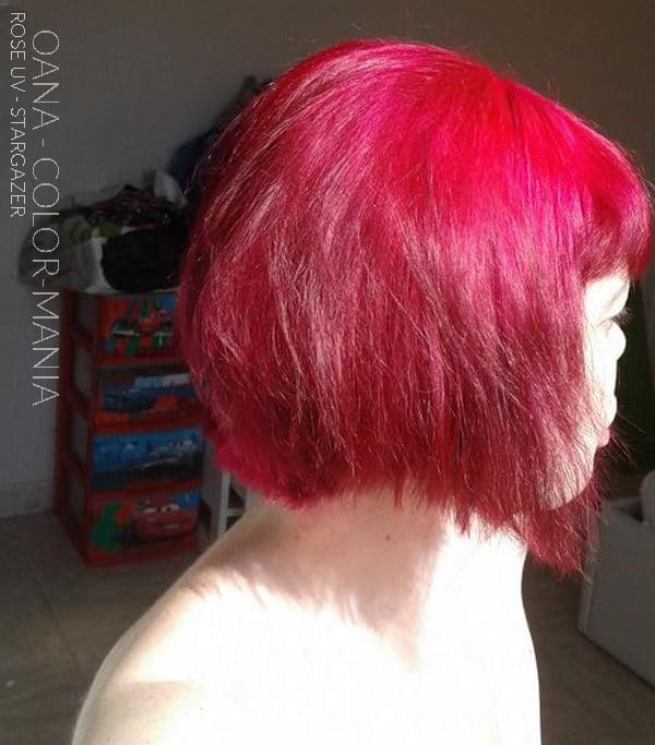 Rose - Gracias Oana :) UV Rose Hair Coloring - Stargazer