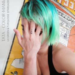 Merci Tata :) Coloration Cheveux Turquoise UV – Stargazer | Color-Mania