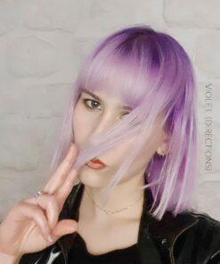 Merci Heloise :) Coloration Cheveux Violet - Directions   Color-Mania