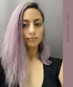 Merci @fineombre :) Coloration Cheveux Violet - Directions - Dilué   Color-Mania