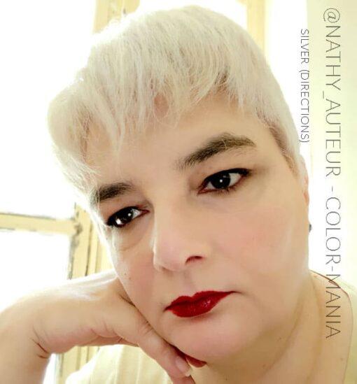 Merci @nathy_auteur :) Coloration Cheveux Gris Argent - Directions | Color-Mania