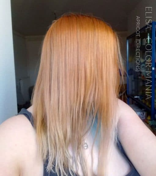 Merci Elisa :) Coloration Cheveux Abricot – Directions | Color-Mania