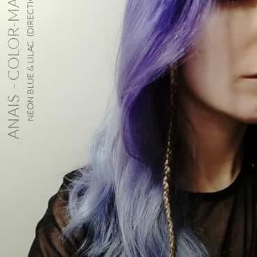 Merci Anaïs :) Coloration Cheveux Lilas - Directions   Color-Mania