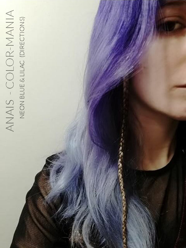 Merci Anaïs :) Coloration Cheveux Lilas - Directions | Color-Mania