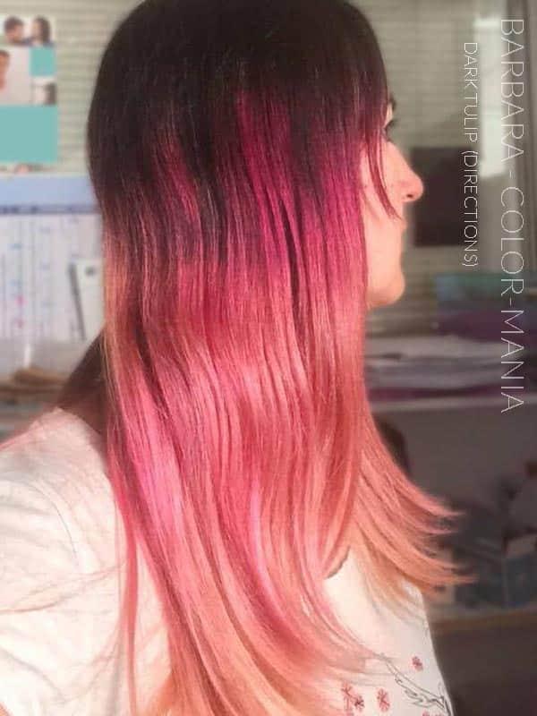 Merci Barbara :) Coloration Cheveux Tulipe Noire - Directions | Color-Mania