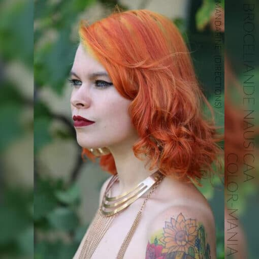 Merci Broceliande Nausicaa :) Coloration Cheveux Mandarine – Directions | Color-Mania