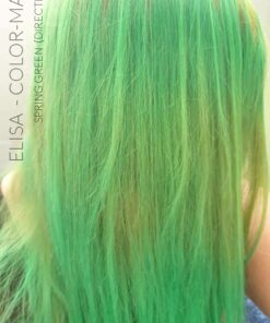 Merci Elisa :) Coloration Cheveux Vert Printemps - Directions | Color-Mania