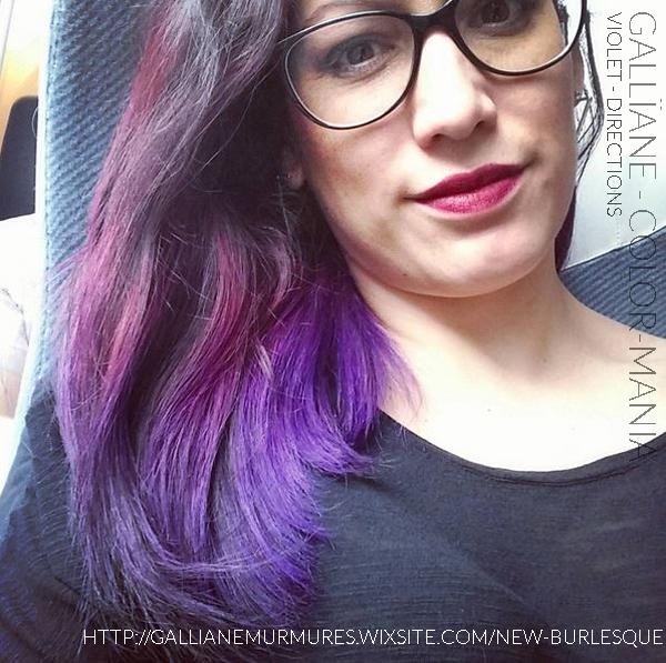Merci Gallïane ! :) - Coloration Cheveux Violet - Directions