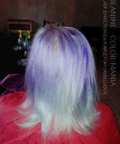 Merci Jeanine :) Coloration Cheveux Gris Argent - Directions | Color-Mania