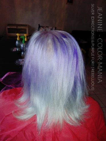 Merci Jeanine :) Coloration Cheveux Gris Argent - Directions | Color-Mania