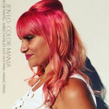Merci Jen Lo ! :) - Coloration Cheveux Rose Pastel - La Riché Directions - Hot Hot Pink - Manic Panic - Color-Mania
