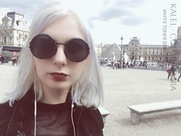 Merci Kalel :) Coloration Cheveux Toner Blanc - Directions | Color-Mania