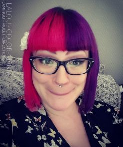 Danke Lalou! :) - Flamingo und Violet Hair Coloring - La Riché Wegbeschreibung - Color-Mania