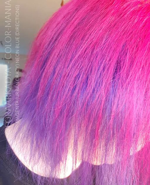 Merci @LoraArkadya :) Coloration Cheveux Rose Magenta - Urban Crazy | Color-Mania