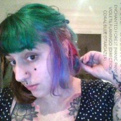 Merci Marie :) Coloration Cheveux Bleu Lagon – Stargazer | Color-Mania