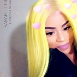Gracias Sarah :) Hair Color Yellow Fluo - Direcciones | Color-Mania