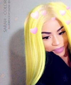 Merci Sarah :) Coloration Cheveux Jaune Fluo – Directions | Color-Mania