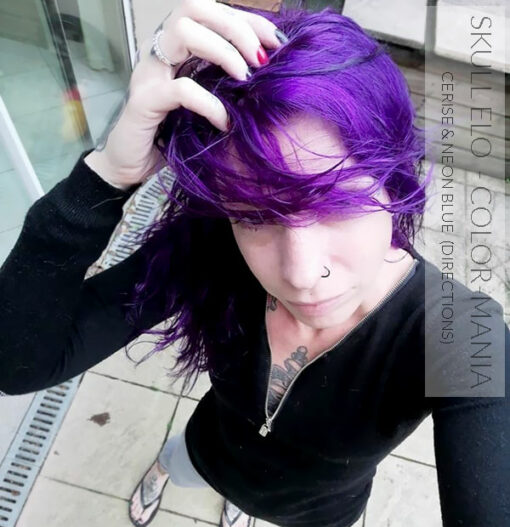 Merci Skull Elo :) Coloration Cheveux Rose Cerise - Directions   Color-Mania