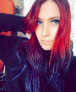 Merci @aanniiin :) Coloration Cheveux Bleu Electrique – Directions | Color-Mania