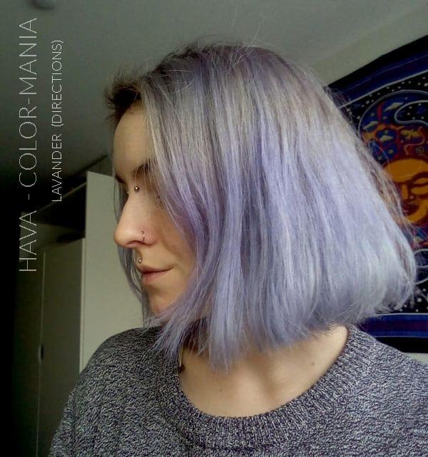 Grazie Hava  ) Colore dei capelli Lavanda - Indicazioni  9c4a7920fdcd