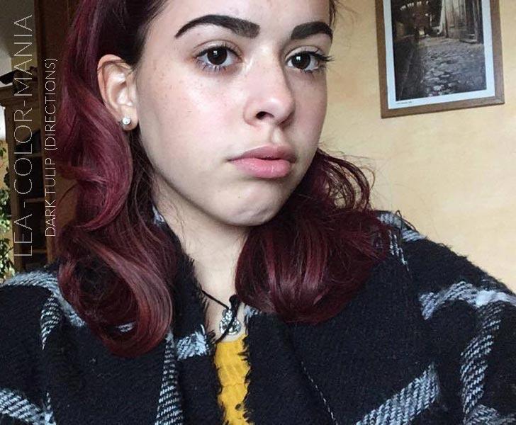 Merci Léa :) Coloration Cheveux Tulipe Noire - Directions | Color-Mania