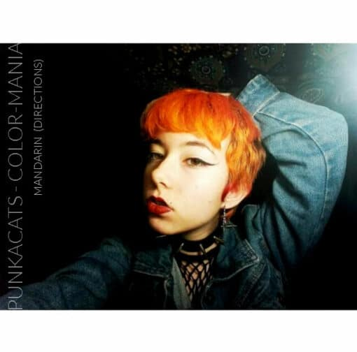 Merci Punkacats :) Coloration Cheveux Mandarine – Directions | Color-Mania