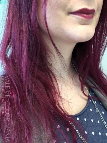 Rouge - Merci Valérie :) Coloration Cheveux Tulipe Noire - Directions