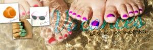 Coloración del cabello original, gafas de sol, esmalte de uñas: la selección de compras Color-Mania para las vacaciones