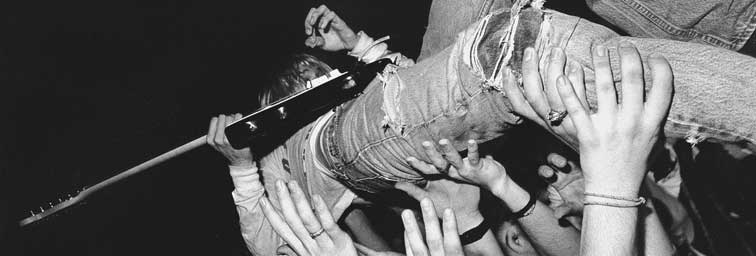 Kurt Cobain par Charles Peterson
