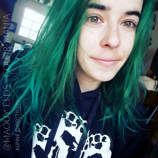 Merci @maouy_elds :) Coloration Cheveux Vert Alpin - Directions | Color-Mania